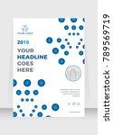 annual report  broshure  flyer  ... | Shutterstock .eps vector #789569719