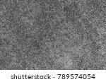 seamless monochrome grey carpet ... | Shutterstock . vector #789574054