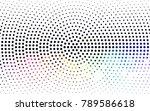 dark multicolor vector pattern...   Shutterstock .eps vector #789586618