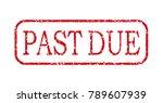 business stamp illustration ...