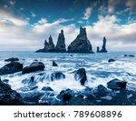 unbelievable seascape of... | Shutterstock . vector #789608896