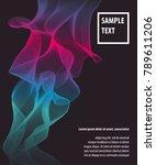 line geometric coverage. modern ... | Shutterstock .eps vector #789611206