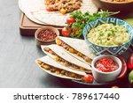 homemade beef meat fajitas | Shutterstock . vector #789617440