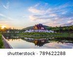 ho kham luang  royal pavilion ... | Shutterstock . vector #789622288