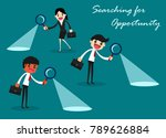 searching for opportunity.... | Shutterstock .eps vector #789626884