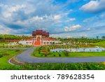 ho kham luang  royal pavilion ... | Shutterstock . vector #789628354