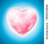 vector realistic pink sweet... | Shutterstock .eps vector #789652846