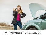 accident and breakdowns with... | Shutterstock . vector #789660790