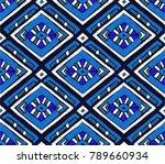 tribal vector ornament.... | Shutterstock .eps vector #789660934