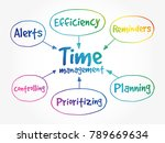 time management business... | Shutterstock .eps vector #789669634