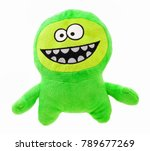 Plush Green Monster For Little...