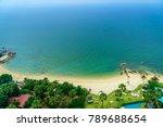 seascape pataya beach. pataya...   Shutterstock . vector #789688654