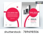 business brochure background... | Shutterstock .eps vector #789698506