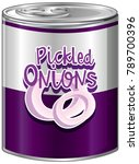 pickled onions in aluminum can...