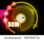 scm strategy plan graphic | Shutterstock . vector #789704776