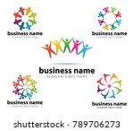 unity organization community... | Shutterstock .eps vector #789706273
