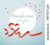 romantic valentines day... | Shutterstock .eps vector #789707164