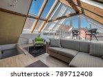 modern loft conversion | Shutterstock . vector #789712408