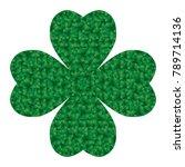 saint patricks day  shamrock...   Shutterstock .eps vector #789714136