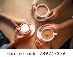 flat lay image from above ... | Shutterstock . vector #789717376