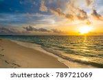 Landscape Of Beautiful Sunset...