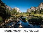 famous el capitan rock... | Shutterstock . vector #789739960
