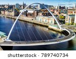 classic view of the iconic tyne ...   Shutterstock . vector #789740734