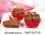 traditional brazilian chocolate ...   Shutterstock . vector #789755770