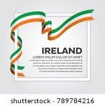 ireland flag background | Shutterstock .eps vector #789784216