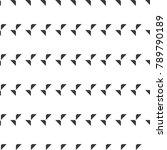 seamless geometric vector... | Shutterstock .eps vector #789790189