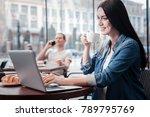 work with pleasure. amazing... | Shutterstock . vector #789795769