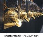 coffee house roaster shop... | Shutterstock . vector #789824584