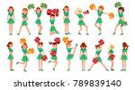 high school profession... | Shutterstock .eps vector #789839140