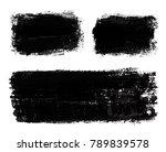 vector grunge banner.grunge... | Shutterstock .eps vector #789839578