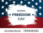 poster or banners on  national...   Shutterstock .eps vector #789848584