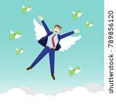 vector illustration business...   Shutterstock .eps vector #789856120