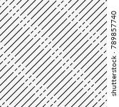 vector seamless pattern.... | Shutterstock .eps vector #789857740