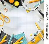 modern design template with...   Shutterstock .eps vector #789858670
