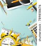 modern design template with...   Shutterstock .eps vector #789858676