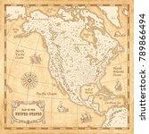 great detail illustration of... | Shutterstock .eps vector #789866494
