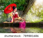 Thai Women Wear Thai Dress...