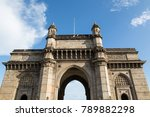 gateway of india  front view ... | Shutterstock . vector #789882298