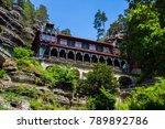 national park bohemian... | Shutterstock . vector #789892786