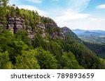 national park bohemian... | Shutterstock . vector #789893659
