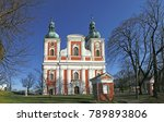 the pilgrimage church on the... | Shutterstock . vector #789893806