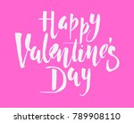 happy valentines day vintage... | Shutterstock .eps vector #789908110