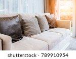 contemporary interior of living ... | Shutterstock . vector #789910954