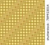 gold metallic regular seamless...   Shutterstock . vector #789923014