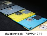 floppy disk outdated technology | Shutterstock . vector #789934744