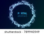 Abstract Portal Illustration....